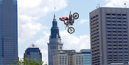Beau Bamburg at the FMX Finals at the AST Dew Tour Right Guard Open in Cleveland...Photo by Ken Blaze