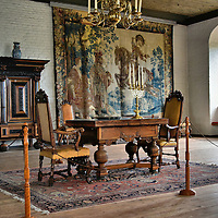 Hall of Christian IV at Akershus Fortress in Oslo, Norway<br />