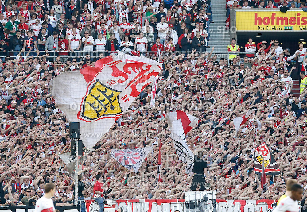29.03.2014, Mercedes Benz Arena, Stuttgart, GER, 1. FBL, VfB Stuttgart vs Borussia Dortmund, 28. Runde, im Bild // during the German Bundesliga 28th round match between VfB Stuttgart and Borussia Dortmund at the Mercedes Benz Arena in Stuttgart, Germany on 2014/03/29. EXPA Pictures &copy; 2014, PhotoCredit: EXPA/ Eibner-Pressefoto/ BW-Foto<br /> <br /> *****ATTENTION - OUT of GER*****