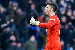 Nick Pope of Burnley celebrates - Mandatory by-line: Robbie Stephenson/JMP - 19/01/2020 - FOOTBALL - Turf Moor - Burnley, England - Burnley v Leicester City - Premier League