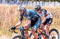 08.07.2019, Wiener Neustadt, AUT, Ö-Tour, Österreich Radrundfahrt, 2. Etappe, von Zwettl nach Wiener Neustadt (176,9 km), im Bild Matthias Krizek (Team Felbermayr Simplon Wels, AUT) // Matthias Krizek (Team Felbermayr Simplon Wels, AUT) during 2nd stage from Zwettl to Wiener Neustadt (176,9 km) of the 2019 Tour of Austria. Wiener Neustadt, Austria on 2019/07/08. EXPA Pictures © 2019, PhotoCredit: EXPA/ JFK