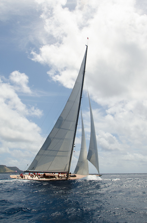 H2<br /> <br /> Back in the 60s, classic yachts, which were gathered in English Harbour Antigua, had begun chartering and the captains and crews challenged each other to a race down to Guadeloupe and back to celebrate the end of the charter season. From this informal race, Antigua Race Week was formalised in 1967, and in those days all of the yachts were classics. As the years grew on, the classic yachts were slowly outnumbered but the faster sleeker modern racing yachts and 24 years later the Classic Class had diminished to a few boats and was abandoned in 1987. However this same year seven classic yachts turned out and were placed in Cruising Class 3 with the bare boats. The class was so unmatched that it was downright dangerous, so Captain Uli Pruesse hosted a meeting onboard Aschanti of Saba with several classic skippers and in 1988 the Antigua Classic Yacht Regatta was born, with seven boats.<br /> <br /> In 1991, Elizabeth Meyer brought her newly refitted Endeavour and Baron Edmond Rothschild brought his 6-meter Spirit of St Kitts and &ldquo;CSR&rdquo; became the first Sponsor and inaugurated the Concours d&rsquo;El&eacute;gance. In 1996 we created the &ldquo;Spirit of Tradition Class&rdquo;, which has now been accepted all over the world, which gives the &ldquo;new&rdquo; classics, built along the lines of the old, a chance to sail alongside their sister ships. In 1999 we celebrated the first race between the J class yachts in 60 years. Mount Gay Rum has sponsored the Regatta for many years, and we have recently added Officine Panerai as our first ever Platinum Sponsor.<br /> <br /> The Antigua Classic Yacht Regatta has maintained a steady growth, hosting between 50 and 60 yachts every year and enjoys a wonderful variety of competitors, including traditional craft from the islands, classic ketches, sloops, schooners and yawls making the bulk of the fleet, together with the stunningly beautiful Spirit of Tradition yachts, J Class yachts and Tall Ships.