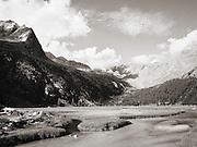 Europe, Italy, Lombardy, Sondrio, Valle, Valley, di, Preda Rossa, brook, stream, rivulet, Monte, Mountain, Disgrazia, bad luck