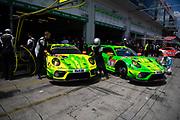 June 19-23, 2019: 24 hours of Nurburgring. Manthey Racing, Earl Bamber, Michael Christensen, Kevin Estre, Laurens Vanthoor, Porsche 911 GT3 R, 1 Manthey-Racing Richard Lietz, Frédéric Makowiecki Patrick Pilet, Nick Tandy, Porsche 911 GT3 R
