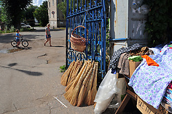 "At a local market a few blocks back from the Volga River in Uglich, Russia. As one of Russia's ""Golden Ring"" cities, Uglich is designated a town of significant cultural importance."