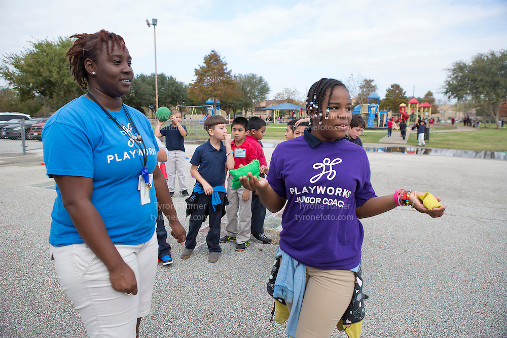 Playworks<br /> <br /> <br /> Chambers Elementary School<br /> 10700 Carvel Ln., <br /> Houston, TX 77072<br /> <br /> <br /> 2nd grade class play<br /> <br /> No RWJF releases for any of the students