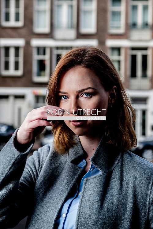 AMSTERDAM - portret van Lijsttrekker Ancilla van de Leest van de piratenpartij . COPYRIGHT ROBIN UTRECHT