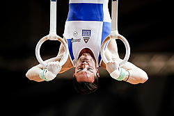 November 2, 2018 - Doha, Qatar - Eleftherios Petrounias of  Greece   during  Rings for Men at the Aspire Dome in Doha, Qatar, Artistic FIG Gymnastics World Championships on 2 of November 2018. (Credit Image: © Ulrik Pedersen/NurPhoto via ZUMA Press)