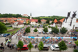 The start during 1st Stage of 25th Tour de Slovenie 2018 cycling race between Lendava and Murska Sobota (159 km), on June 13, 2018 in  Slovenia. Photo by Vid Ponikvar / Sportida