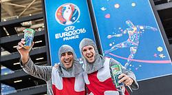 11-06-2016 FRA: UEFA EURO Engeland - Rusland, Marseille<br /> Engeland speelt gelijk tegen Rusland 1-1 / England Fans dressed as Knights<br /> <br /> ***NETHERLANDS ONLY***
