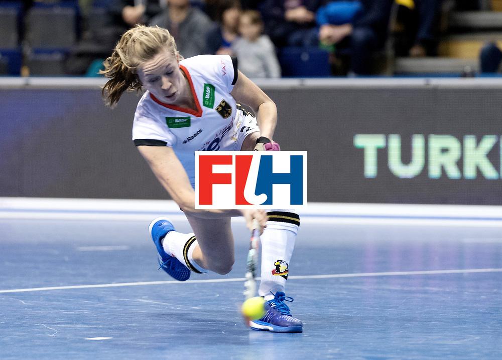 BERLIN - Indoor Hockey World Cup<br /> Women: Czech Republic - Germany<br /> foto: Franzisca Hauke.<br /> WORLDSPORTPICS COPYRIGHT FRANK UIJLENBROEK
