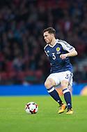 4th September 2017, Hampden Park, Glasgow, Scotland; World Cup Qualification, Group F; Scotland versus Malta; Scotland's Andy Robertson