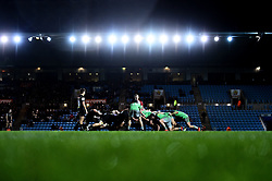 Exeter Braves and Harlequins compete in a scrum - Mandatory by-line: Ryan Hiscott/JMP - 25/11/2019 - RUGBY - Sandy Park - Exeter, England - Exeter Braves v Harlequins - Premiership Rugby Shield