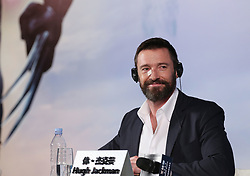 May 13, 2014 - Beijing, China- Actor HUGH JACKMAN attends the 'X-Men: Days of Future Past' press conference photocall. (Credit Image: © Xinhua via ZUMA Wire)