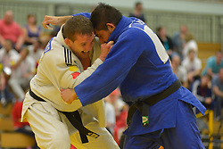 Cyril Jonard, -81kg, FRA, Jose David Effron, ARG, 2016 Visually Impaired Judo Grandprix, British Judo, Birmingham, England