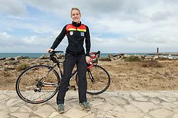 10.03.2016, Colonia di Sant Jordi, ESP, Deutsche Triathlon Nationalmannschaft, Trainingslager, im Bild Lisa Sieburger (GER) // during photocall at the training camp of German Triathlon National Team in Colonia di Sant Jordi, Spain on 2016/03/10. EXPA Pictures &copy; 2016, PhotoCredit: EXPA/ Eibner-Pressefoto/ Sch&uuml;ler<br /> <br /> *****ATTENTION - OUT of GER*****