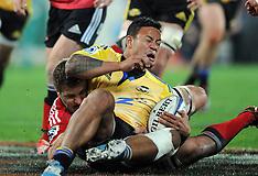 Wellington-Super Rugby, Hurricanes v Crusaders, June 28
