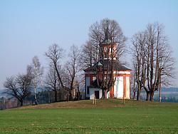 CZECH REPUBLIC NEDVEZI APR09 - Chapel of Hartmanice, near Bystre, Vysocina, Czech Republic...jre/Photo by Jiri Rezac..© Jiri Rezac 2009