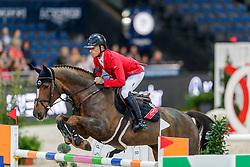 Schwizer Pius, SUI, Cortney Cox<br /> Stuttgart - German Masters 2019<br /> © Hippo Foto - Stefan Lafrentz<br /> 14/11/2019