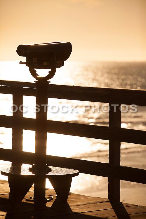 Telescope On The Seal Beach Pier