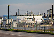 Sept 3, Port Arthur, standing water at the Motiva refinery which had not gone back into operaton since Hurricane Harvey .