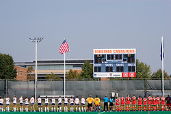 The Virginia Cavaliers field hockey team fell to the Boston University Terriers 3-0 at the University Hall Turf Field in Charlottesville, VA on September 23, 2007