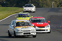 #444 Hammersley / Brown Vauxhall Astra GTE 16v 2000 during the CSCC Tin Tops at Oulton Park, Little Budworth, Cheshire, United Kingdom. October 15 2016. World Copyright Peter Taylor/PSP. <br /> Copy of publication required for printed pictures.  Every used picture is fee-liable. http://archive.petertaylor-photographic.co.uk