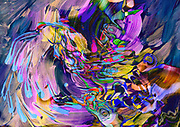 waving swirling flow abstract dynamic art image with moving fluid shapes and nuances