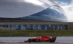 September 28, 2018 - Sochi, Russia - Motorsports: FIA Formula One World Championship 2018, Grand Prix of Russia, .#7 Kimi Raikkonen (FIN, Scuderia Ferrari) (Credit Image: © Hoch Zwei via ZUMA Wire)
