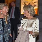 NLD/Amsterdam/20150926 - Afsluiting viering 200 jaar Koninkrijk der Nederlanden, Mabel en prinses Irene