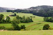 Landschaft im westlichen Odenwald, Hessen, Deutschland