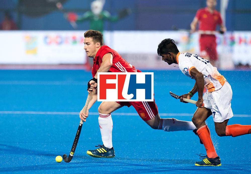 Odisha Men's Hockey World League Final Bhubaneswar 2017<br /> Match id:05<br /> 06 IND v ENG (Pool B)<br /> Foto: Liam Ansell (Eng)  <br /> WORLDSPORTPICS COPYRIGHT FRANK UIJLENBROEK