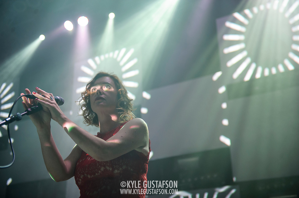 WASHINGTON, DC - October 22nd, 2014 - Slowdive performs at the 9:30 Club in Washington, D.C. (Photo by Kyle Gustafson/ For IMP)