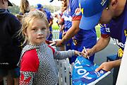Volts players sign autographs for fans after the Otago Volts vs Wellington Firebirds, Burger King Super Smash - Men 2018-19, University of Otago Oval, Dunedin, New Zealand. 27 January 2019. Copyright Image: Derek Morrison / www.photosport.nz