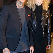 NLD/Amsterdam/20151110 - Life After Football Award 2015, Gregory van der Wiel en partner Stephanie Bertram Rose