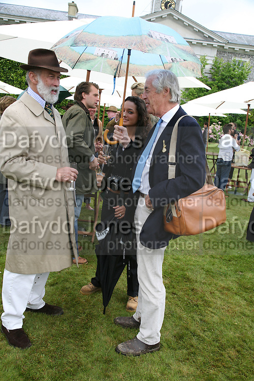 PRINCE MICHAEL OF KENT AND MARTIN SUMMERS, Cartier Style et Luxe lunch. Goodwood.  24 June 2007.  -DO NOT ARCHIVE-© Copyright Photograph by Dafydd Jones. 248 Clapham Rd. London SW9 0PZ. Tel 0207 820 0771. www.dafjones.com.