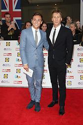 Tom Daley, Dustin Lance Black, Pride of Britain Awards, Grosvenor House Hotel, London UK. 28 September, Photo by Richard Goldschmidt /LNP © London News Pictures