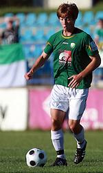 Damjan Trifkovic (8) of Rudar at 6th Round of PrvaLiga Telekom Slovenije between NK Primorje Ajdovscina vs NK Rudar Velenje, on August 24, 2008, in Town stadium in Ajdovscina. Primorje won the match 3:1. (Photo by Vid Ponikvar / Sportal Images)