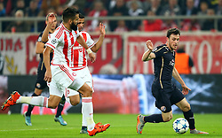 04.11.2015, Karaiskakis Stadium, Piraeus, GRE, UEFA CL, Olympiacos vs Dinamo Zagreb, Gruppe F, im Bild Henriquez // during UEFA Champions League group F match between Olympiacos and Dinamo Zagreb at the Karaiskakis Stadium in Piraeus, Greece on 2015/11/04. EXPA Pictures © 2015, PhotoCredit: EXPA/ Pixsell/ Slavko Midzor<br /> <br /> *****ATTENTION - for AUT, SLO, SUI, SWE, ITA, FRA only*****