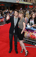 Jimmy Carr; Karoline Copping The Inbetweeners Movie world premiere, Vue Cinema, Leicester Square, London, UK, 16 August 2011:  Contact: Rich@Piqtured.com +44(0)7941 079620 (Picture by Richard Goldschmidt)