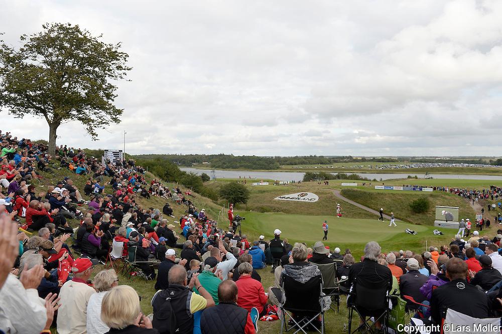 DK Caption:<br /> 20140814, Aars, Danmark:<br /> Made in Denmark Golf. 1. runde: S&oslash;ren Kjeldsen (DEN) p&aring; 16. hul<br /> Foto: Lars M&oslash;ller<br /> UK Caption:<br /> 20140814, Aars, Denmark:<br /> Made in Denmark Golf.  1st round: Soeren Kjeldsen on the 16th hole<br /> Photo: Lars Moeller