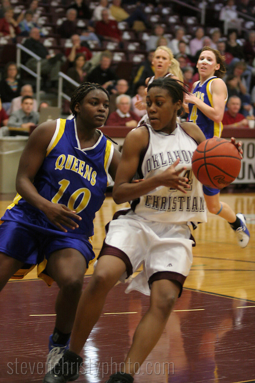 OC Women's Basketball vs Wayland Baptist.January 21, 2006.69-46 win