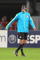 23.11.2011, BayArena, Leverkusen, Germany, UEFA CL, Gruppe E, Bayer 04 Leverkusen (GER) vs Chelsea FC (ENG), im Bild Michael Ballack (Leverkusen #13) // during the football match of UEFA Champions league, group E, between Bayer Leverkusen (GER) and FC Chelsea (ENG) at BayArena, Leverkusen, Germany on 23/11/2011.EXPA Pictures © 2011, PhotoCredit: EXPA/ nph/ Mueller..***** ATTENTION - OUT OF GER, CRO *****