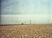 Lifeguard stand Venice Beach, CA Medium Format Kodak Portra VC 160