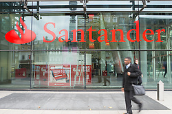 Branch of Santander on Marylebone Road, London