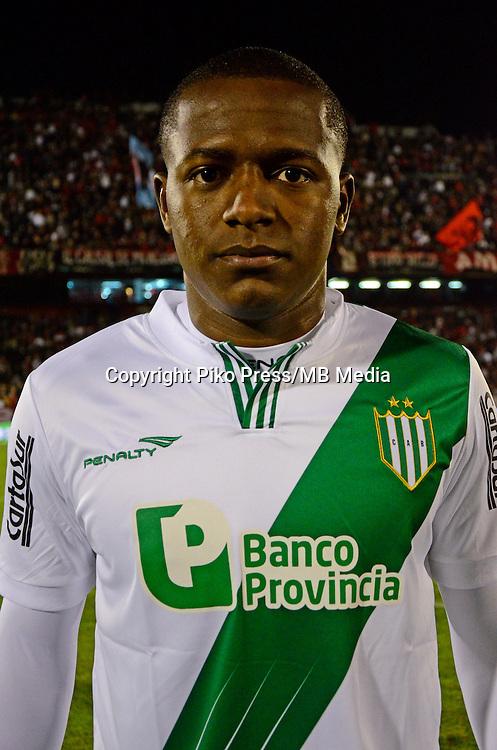 CAMPEONATO ARGENTINO Soccer / Football. <br /> BANFIELD  - Portraits <br /> Bs.As. Argentina. - Jun 11, 2015<br /> Here Banfield player Mauricio Cuero<br /> &copy; PikoPress