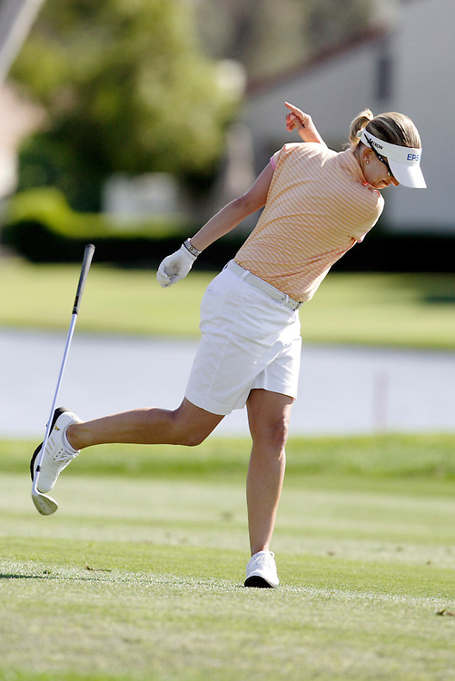 Karrie Webb at the Kraft Nabisco Championship.