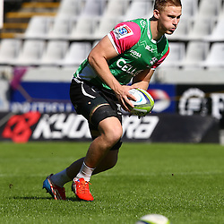 DURBAN, SOUTH AFRICA - MAY 06: Daniel Du Preez during the Cell C Sharks Captains run at Growthpoint Kings Park on May 06, 2016 in Durban, South Africa. (Photo by Steve Haag/Gallo Images)