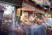 Spice market at Chandni Chowk, Old Delhi, India.