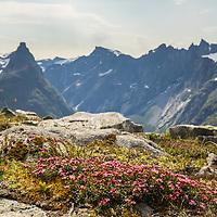 Trollveggen and Romsdalshorn